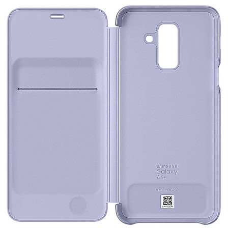 Samsung Husa Wallet Galaxy A6 Plus 2018 Violet