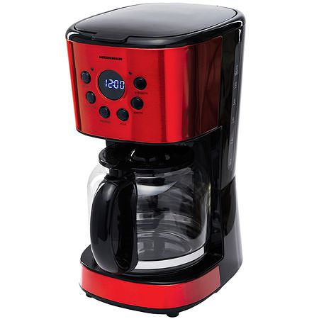 Heinner Cafetiera digitala HCM-1500RDIX, display LED