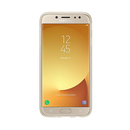Samsung Husa Jelly Galaxy J7 2017 Gold