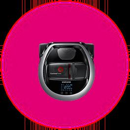 Robot Aspirator Samsung Putere 20 W, Capacitate 0.4 l