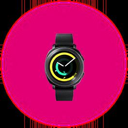 Smartwatch Samsung Gear Sport Black