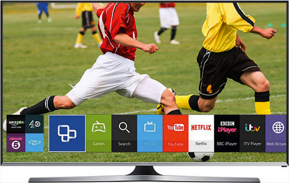 Smart TV Smasung UE48J5500AWXXH LED 48D
