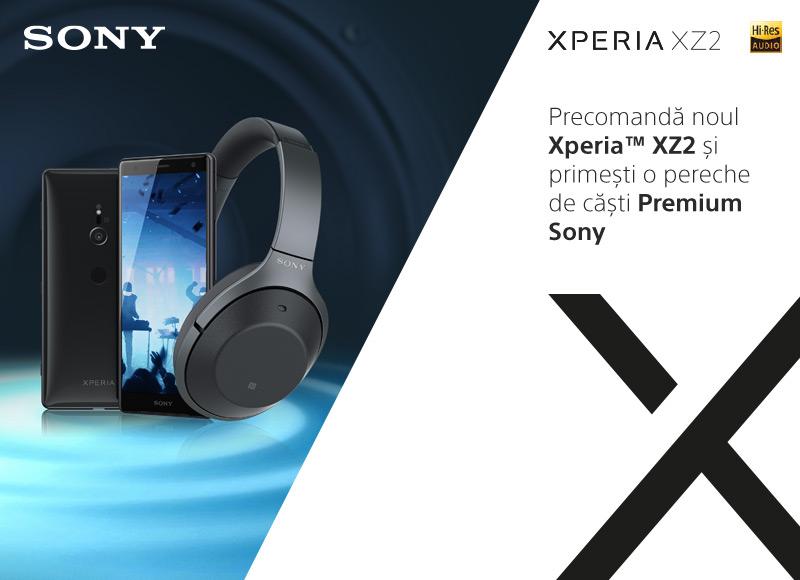 Precomanda Sony Xperia XZ2