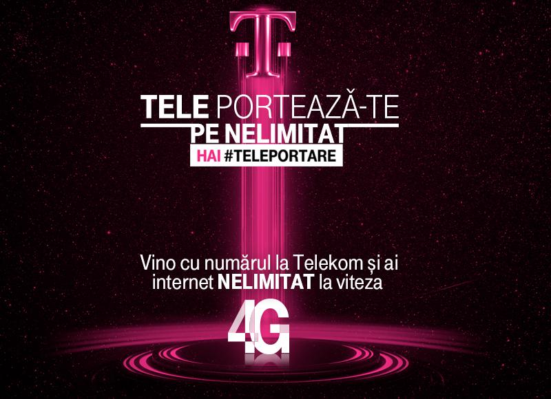 Oferta portare numar la Telekom cu net 4G nelimitat, cadou smartwatch sau smartphone-uri la 1 leu