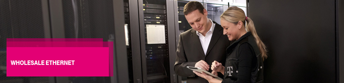 Telekom provides point-to-point connectivity and two Ethernet connectivity solutions
